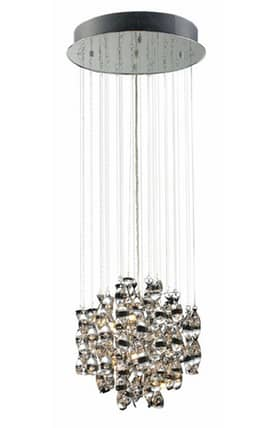 Elk Lighting Odyssey Odyssey 30034/12 Pendant in Polished Chrome Finish Lighting