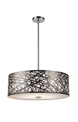 Elk Lighting Tronic Tronic 31054/5 Pendant in Polished Stainless Steel Finish Lighting