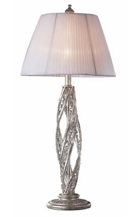 Elk Lighting Renaissance Renaissance 6231/1 Table Lamp in Sunset Silver Finish Lighting