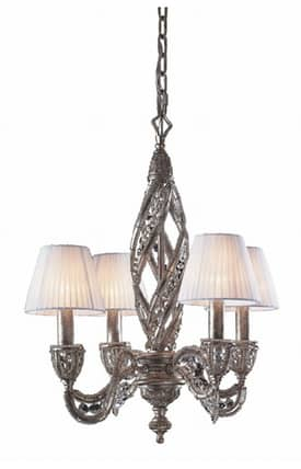 Elk Lighting Renaissance Renaissance 6235/4 4 Light Chandelier in Sunset Silver Finish Lighting