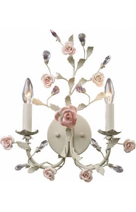 Elk Lighting Heritage Heritage 8090/2 Wall Sconce in Cream Finish Lighting