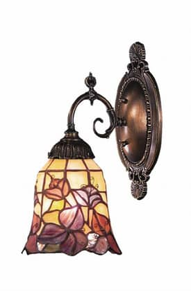 Elk Lighting Mix-N-Match Mix-N-Match 071-TB-17 1 Light Wall Sconce in Tiffany Bronze Finish Lighting