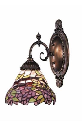 Elk Lighting Mix-N-Match Mix-N-Match 071-TB-28 1 Light Wall Sconce in Tiffany Bronze Finish Lighting