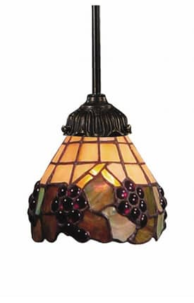 Elk Lighting Mix-N-Match Mix-N-Match 078-TB-07 Pendant in Tiffany Bronze Finish Lighting