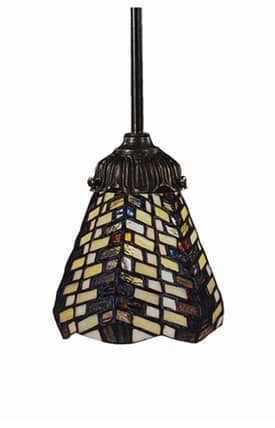 Elk Lighting Mix-N-Match Mix-N-Match 078-TB-20 Pendant in Tiffany Bronze Finish Lighting