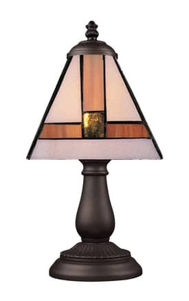 Elk Lighting Mix-N-Match Mix-N-Match 080-TB-01 Table Lamp in Tiffany Bronze Finish Lighting