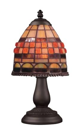 Elk Lighting Mix-N-Match Mix-N-Match 080-TB-10 Table Lamp in Tiffany Bronze Finish Lighting