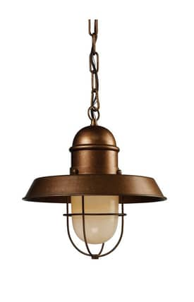 Elk Lighting Farmhouse Farmhouse 65049-1 Pendant in Bellwether Copper Finish Lighting