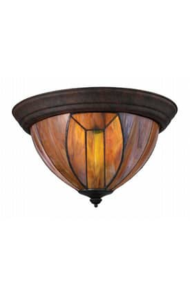 Elk Lighting Dimensions Dimensions 70045-3 Flush Mount in Burnished Copper Finish Lighting