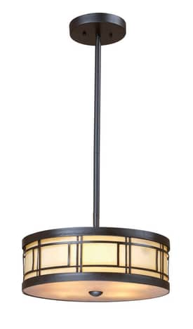 Elk Lighting Modulus Modulus 70161-3 3 Light Pendant in Tiffany Bronze Finish Lighting