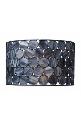 Elk Lighting Cirque Cirque 72000-2 2 Light Wall Sconce in Matte Black Finish Lighting