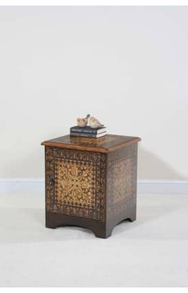 Ultimate Accents Tables Madrid Mosaic End Table Furniture