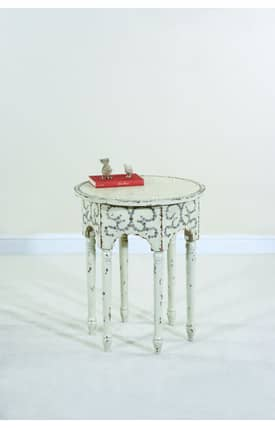 Ultimate Accents Tables Cottage Button Table Furniture