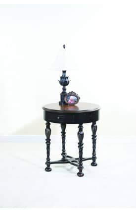 Ultimate Accents Tables Houston Round Side Table Furniture