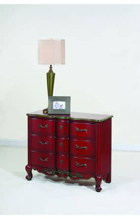 Ultimate Accents Cabinets Crimson 2 Door Commode Furniture