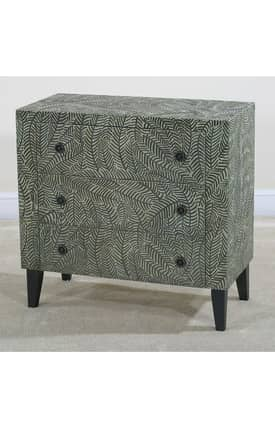 Ultimate Accents Chests Myriad Foliage Side Chest Furniture