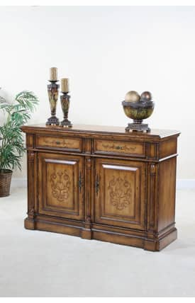Ultimate Accents Tables Houston Buffet Console Table Furniture