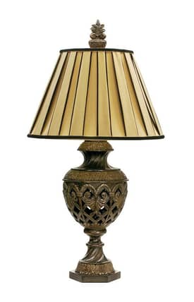 Sterling Industries Table Lamps French Pierce 91-243 Table Lamp In Gold Lighting