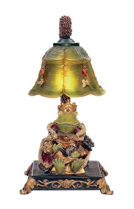 Sterling Industries Table Lamps Resting Queen Frog 91-331 Table Lamp In Multi Lighting
