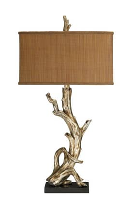 Sterling Industries Table Lamps Driftwood 91-840 Table Lamp In Silver Lighting