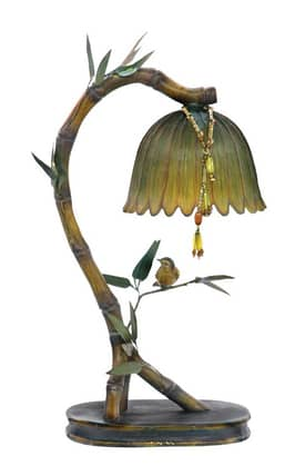 Sterling Industries Table Lamps Perching Finch 91-932 Table Lamp In Multi Lighting