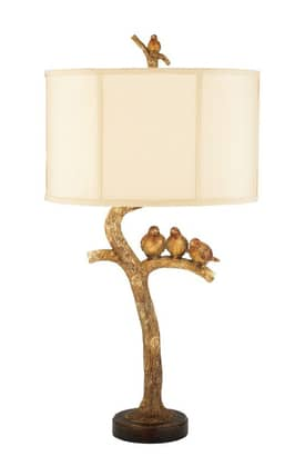 Sterling Industries Table Lamps Three Bird Light 93-052 Table Lamp In Brown Lighting