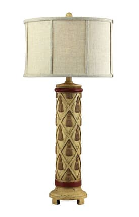 Sterling Industries Table Lamps Warren Ave 93-9126 Table Lamp In Thornton Cream Finish Lighting