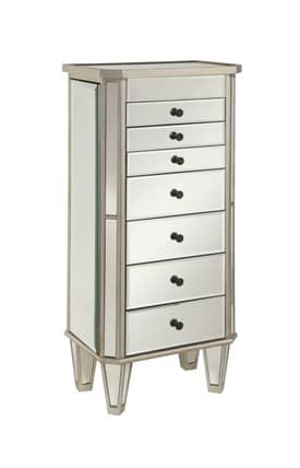 Powell Company Armoires Mirrored Jewelry Armoire Furniture