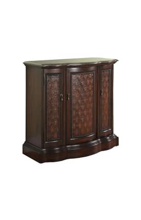 Powell Company Cabinets Curved Marble Top Cabinet Furniture