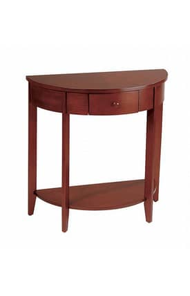 Office Star Tables Madison Casual Hall Console Table With Drawer Furniture