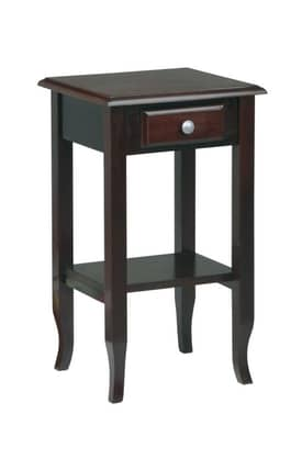 Office Star Tables Merlot Phone Stand Furniture