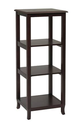 Office Star Book & Show Cases Merlot Side Pier Furniture