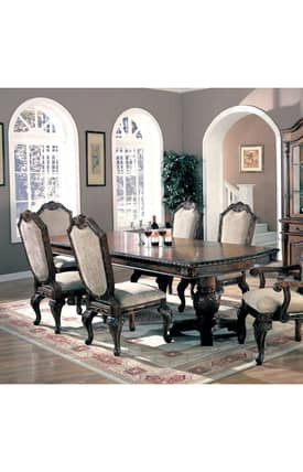 Coaster Company Tables Saint Charles Traditional Dining Table Furniture