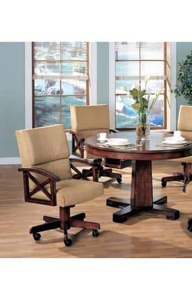 Coaster Company Chairs Marietta Contemporary Dining Arm Chair Furniture