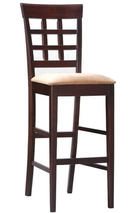 Coaster Company Bar Stools Wheat Back Bar Stool With Fabric Seat (Set of 2) Furniture