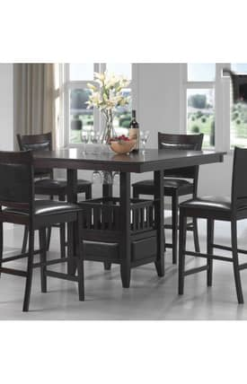 Coaster Company Tables Jaden Counter Height Dining Table Furniture