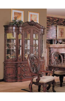 Coaster Company Cabinets Nottingham Buffet And Hutch Cabinet Furniture