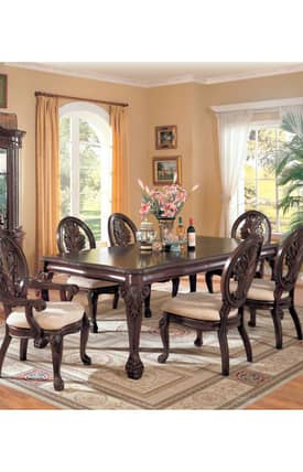 Coaster Company Tables Tabitha Traditional Dining Table Furniture