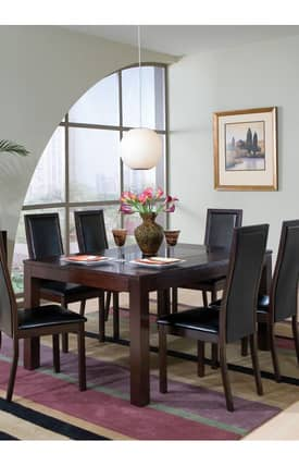 Coaster Company Tables Morningside Semi Formal Dining Table Furniture