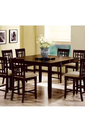 Coaster Company Tables Evens Counter Height Dining Table Furniture