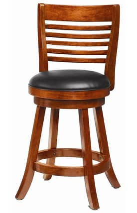 Coaster Company Bar Stools Swivel Bar Stool With Upholstered Seat (Set Of 2) Furniture