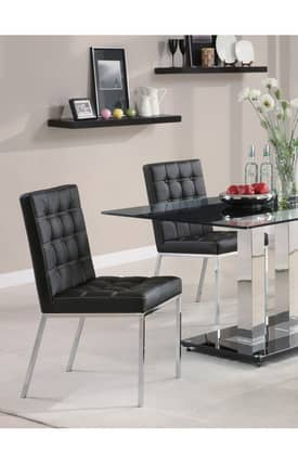 Coaster Company Chairs Rolien Contemporary Dining Chair (Set Of 2) Furniture