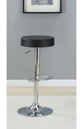 Coaster Company Stools Contemporary Adjustable Bar Stool Furniture