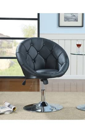Coaster Company Chairs Contemporary Adjustable Swivel Chair Furniture