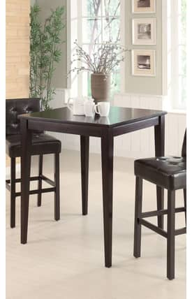 Coaster Company Tables Contemporary Counter Height Bar Table Furniture
