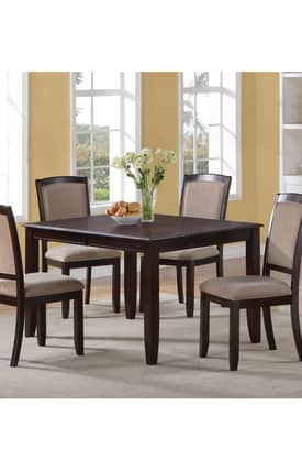 Coaster Company Tables Memphis Contemporary Dining Table Furniture