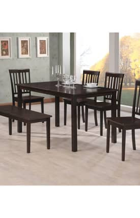 Coaster Company Tables Venice Contemporary Dining Table Furniture