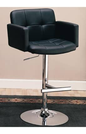 Coaster Company Bar Stools Upholstered Bar Chair With Adjustable Height Furniture
