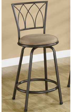 Coaster Company Bar Stools Contemporary Counter Stools (Set of 2) Furniture
