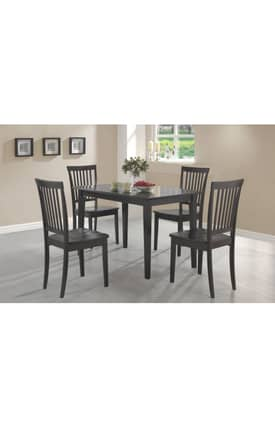 Coaster Company Dining Sets Oakdale Contemporary 5 Piece Dining Set Furniture